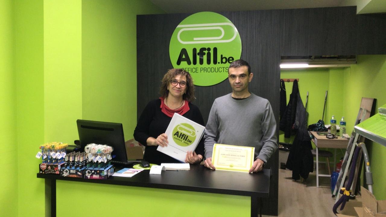 Finalizada la formación en Girona - Alfil.Be