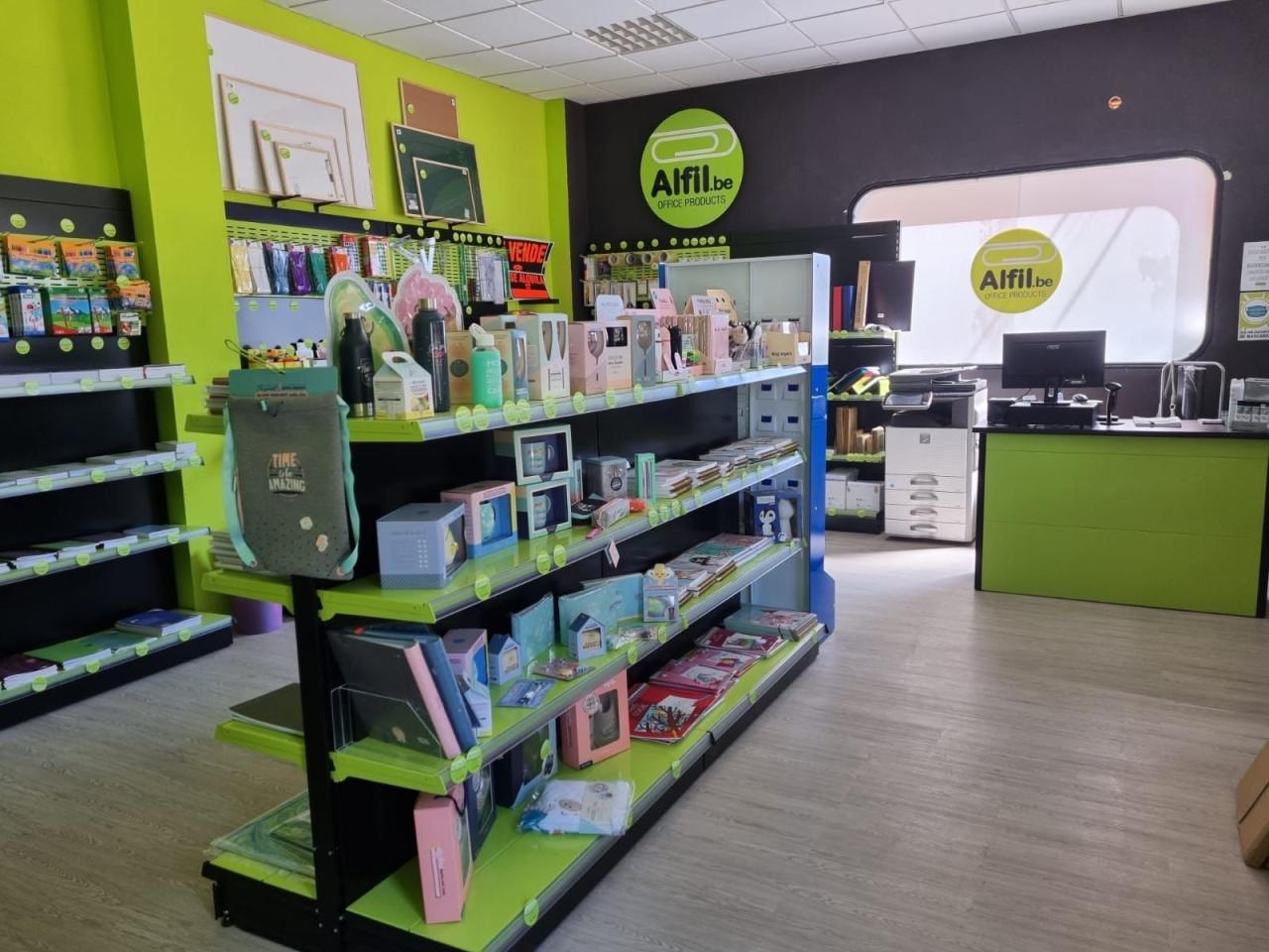 Inauguración nueva tienda Alfil.be Mérida papelería & hobby
