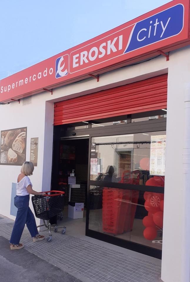 EROSKI inaugura un nuevo supermercado franquiciado con al enseña RAPID en la localidad Mallorquina de Sant Llorenç des Cardassar