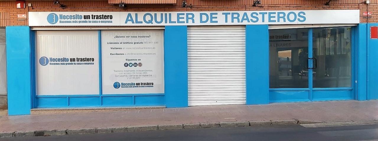 Necesito un trastero abre una delegación  de alquiler de trasteros en Linares