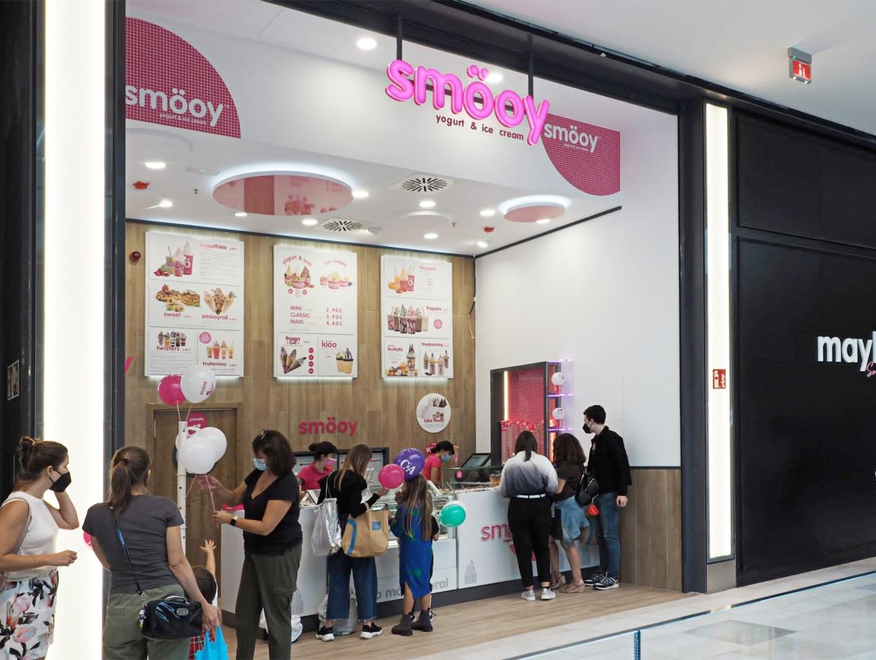 La cadena de yogur helado Smo¨oy crece en Vigo con su segundo establecimiento franquiciado
