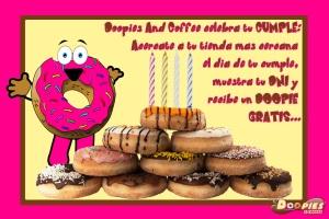 Doopies&Coffe celebra tu cumpleaños