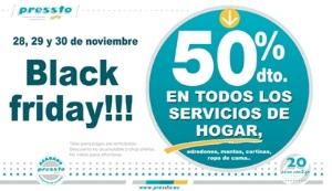La franquicia de Tintorerías Pressto se suma al Black Friday