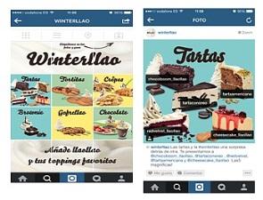 llaollao estrena carta interactiva en Instagram