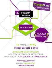 Bacelona será el próximo destino 2015 de franquishop