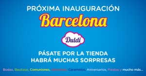 Duldi Barcelona, nueva tienda en la Ciudad Condal