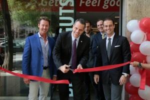 Peter Taunton, Fundador de Snap Fitness, inaugura el primer centro en España