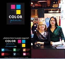 Color Plus os da las gracias por vuestro interés en Expofranquicias.