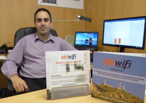 Entrevista a Manuel Cejudo director de Marketing y Expansión de akiwifi