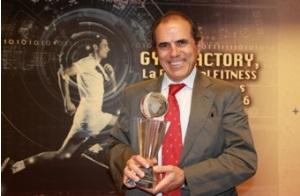 Ángel Luis García Balcaones, fundador de Body Factory, precmio al mejor operador de centros deportivos