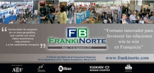 Quedan 12 espacios para el  Salón  FRANKINORTE BILBAO 2016 - Oportunidad de expansión