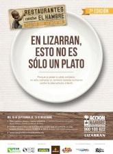 LIZARRAN se convierte en la primera cadena de franquicia de la 7ª edición RESTAURANTES CONTRA EL HAMBRE