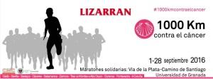 """LIZARRAN colabora en la Ruta de """"1.000 Km Contra el Cáncer"""""""