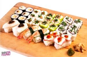 Sushi, tu mejor aliado para la dieta 'post-roscón'
