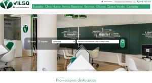 Vilsa presenta su nueva web inmobiliaria Premium