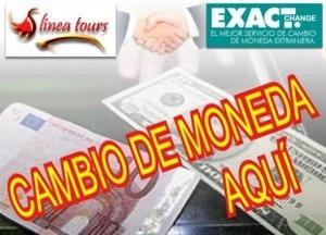 Llega el cambio de moneda a las oficinas de Linea Tours
