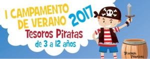 Abierto el plazo de inscripción del I Campamento de verano Tesoros Piratas 2017