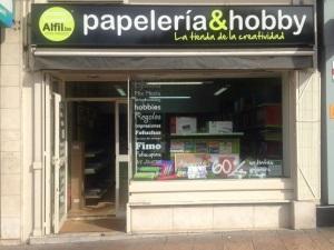 ¡¡¡ INAUGURACIÓN alfil.be Zaragoza Universitaria!!!  Alfil.be papelería & hobby