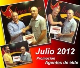 Eugenio, Miguel y María graduados como agentes de Viajes de LINEA TOURS
