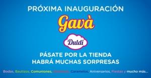 Duldi Gavà, gran fiesta de inauguración