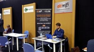 akiwifi presenta su modelo de franquicia en Forinvest