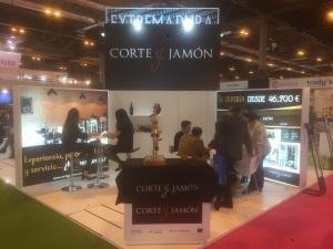 CORTE Y JAMÓN se reúne en expofranquica 2018 con más de 60 interesados en su modelo de negocio.