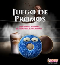 DUNKIN' COFFEE se une al Black Friday con un original Juego de promos