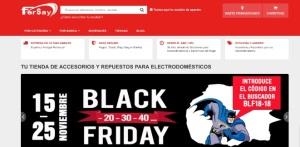 Fersay inicia su campaña Black Friday