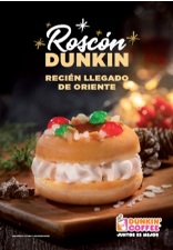 DUNKIN' COFFEE Lanza el nuevo DUNKIN' Roscón