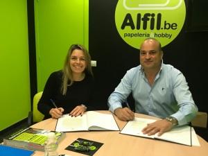 ¡¡¡NUEVA FIRMA Alfil.be Blanes ¡¡¡  papelería & hobby