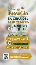 San FrescCín, la apuesta de FrescCo para San Valentín