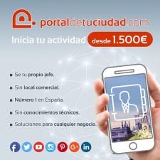 PORTALDETUCIUDAD.com os espera en Expofranquicia 2019
