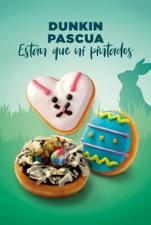 DUNKIN' COFFEE presenta su colección especial de Pascua