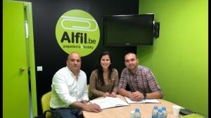Alfil.be  Papelería & Hobby  NUEVA FIRMA