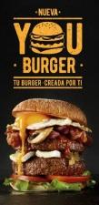 RIBS presenta you Burger, la hamburguesa diseñada integramente por el consumidor
