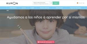 www.kumon.es renueva imagen y contenidos para orientarse 100% a las familias y futuros franquiciados