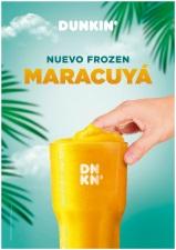 DUNKIN' COFFEE lanza la nueva bebida frozen de Maracuyá