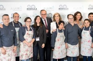 A LA PAR y Rodilla abren el primer restaurante gestionado por personal con discapacidad intelectual