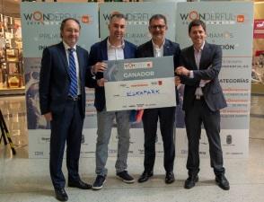 La cadena ESKAPARK recibe el premio al mejor proyecto innovador del Wonderful Summit 2019