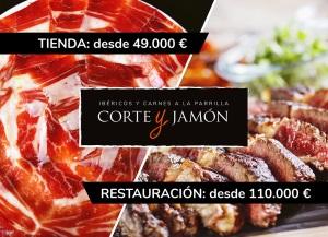 Corte y Jamón muestra con éxito sus dos marcas en Franquishop Madrid