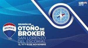 Más de 150 inmobiliarios RE/MAX estarán presentes en la reunión de  Brokers de RE/MAX, en San Lorenzo de El Escorial