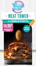 """La marca franquiciadora TOMMY MEL'S lanza su nuevo menú exclusivo """"MEAT TOWER"""""""