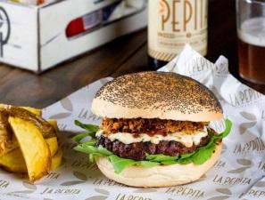 La mejor hamburguesa de Galicia se come en La Pepita de Santiago de Compostela